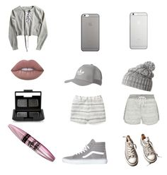 """""""Greys"""" by mrgrdsantos ❤ liked on Polyvore featuring Rebecca Minkoff, Vans, Native Union, adidas Originals, Helly Hansen, Converse, Calvin Klein, Lime Crime, NARS Cosmetics and Maybelline"""