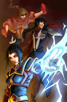 "imthenic: ""Avatar the Last Airbender/The Legend of Korra by Drake Tsui "" Avatar Aang, Team Avatar, Avatar The Last Airbender, Zuko, Chun Li, Legend Of Korra, Drake, Samurai, Nostalgia"
