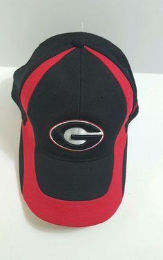 843478b961d Nike Georgia Bulldogs Youth Black Sideline Swoosh Performance Flex Hat in  Sports Mem