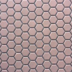 AQ Hexagon Mosaic Porcelain Pink