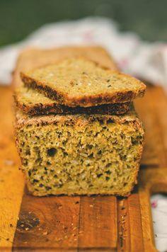 Sourdough rye and corn bread