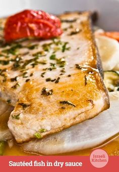 A sophisticated sauce for a classy individual #sauce #fish #israelikitchen #recipe