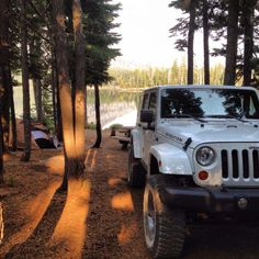 Jeep, Camping, Water can't get any better!!