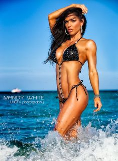 WBFF Fitness Pro and Bikini Model Mandy White Talks With Simplyshredded.com   SimplyShredded.com