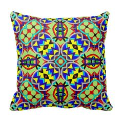 Abstract Pattern Pillow