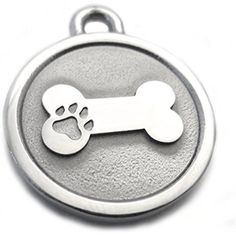 Large Stainless Steel Bone Pet ID Tag ** You can get additional details at the image link. (This is an affiliate link) #DogIDTags