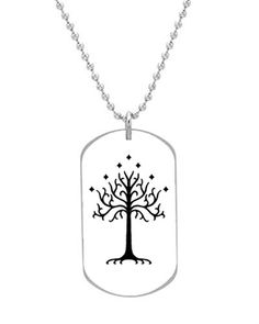 Tree of Gondor The Lord of the Rings Custom OvaL Dog Tag Large Size Pet Tag Cat Animal Tag -- Find out more about the great product at the image link. Pet Id, Dog Id Tags, Pet Tags, Dog Tag Necklace, Tree Of Gondor, Puppies, Animals, Lord Of The Rings, Doggies