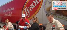 Tyson Chicken founded and headquartered in 1935 in Springdale, Arkansas. Family owned and operated. Tyson is the world's largest processor and marketer of chicken.