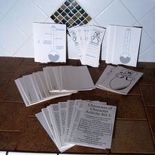 Character Building Activity Cards    27 Engaging character building actives intended for classroom use.  Each activity is on its own card which include the activity title, participants, trait focus, skills built, and any materials needed.  *This activity kit includes certain specialty cards of a quantity of 30 each.     $15.95