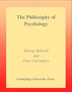 The Philosophy Of Psychology Ebook Pdf Download Philosophy Books, Self Image, Psychology Books, Ebook Pdf, Textbook, This Book, Relationship, Student
