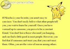Pokemon Personalities: Pikachu is part of me Pokemon Comics, Pokemon Memes, All Pokemon, Pokemon Fan, Cute Pokemon, Gotta Catch Them All, Catch Em All, Pokemon Personalities, Bulbasaur