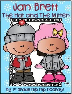 """Free!! Jan Brett's The Hat and The Mitten.....Follow for Free """"too-neat-not-to-keep"""" teaching tools & other fun stuff :)"""