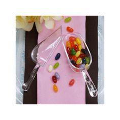 pelle à bonbon transparente