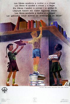 Los LLibros ayudente a medrar y achegar = los libros te ayudan a crecer y a llegar ... / Hans Martín (1992)