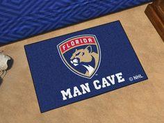 """Florida Panthers Man Cave Starter Rug 19""""x30"""""""