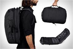 BAGAGEM DE MÃO MINAAL  A mochila Minaal bagagem de mão, é prático, uma peça multi-propósito de bagagem que é destinada especialmente para aqueles que passam muito tempo na estrada. Veja mais detalhes: http://www.filtromag.com.br/bagagem-de-mao-minaal/