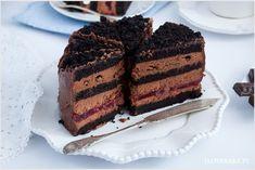 tort czekoladowy Kefir, Tiramisu, Food And Drink, Sweets, Baking, Cake, Ethnic Recipes, Desserts, Dessert Ideas