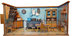 Kibriküche vollständig in Originalerhaltung, schöne Größe, Kindler & Briel | eBay