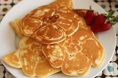Incredible flower pancakes: cute idea for  breakfast