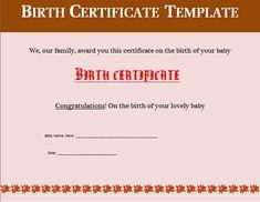 Internship certificate 5 millennial internships pinterest birth certificate templates 17 free word pdf formats altavistaventures Gallery