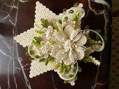 quilled star box....