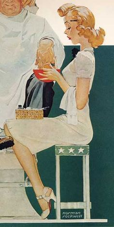 Norman Rockwell 1940 #vintage #art #Americana