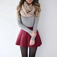 Resultado de imagen para outfit vestidos invierno