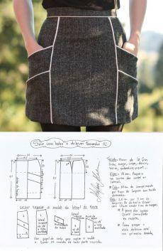 Amazing Sewing Patterns Clone Your Clothes Ideas. Enchanting Sewing Patterns Clone Your Clothes Ideas. Diy Clothing, Sewing Clothes, Clothing Patterns, Sewing Patterns, Sewing Aprons, Sewing Hacks, Sewing Tutorials, Sewing Crafts, Fashion Sewing