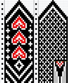 image only lovely mitten pattern. Knitting Charts, Knitting Stitches, Hand Knitting, Knitting Patterns, Knitted Mittens Pattern, Knit Mittens, Heart Patterns, Beading Patterns, Fingerless Mitts