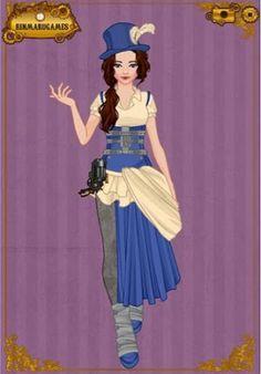 Good costume inspiration! EPBOT: Steampunk Disney Princesses