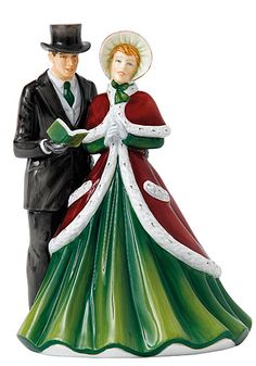 Royal Doulton 2016 Carol Singers God Rest Ye Merry Gentlemen