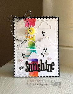 Butterfly Reflections, Ink.: Rainbows and Sunshine with Audrey!
