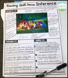 to Teach Reading and Writing Skills My students love using pictures to learn their reading skills!My students love using pictures to learn their reading skills! Reading Lessons, Reading Skills, Writing Skills, Math Lessons, Reading Quotes, Spanish Lessons, 6th Grade Ela, Third Grade Reading, Fourth Grade