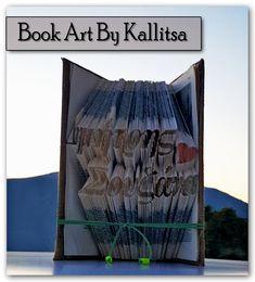 Δώρο ♥ Ονόματα ♥ Ζευγάρι ♥ Δημήτρης ♥ Σουζάνα ♥ Αγάπη ♥ Έρωτας ♥ Βιβλίο ♥ Book Folding ♥ Book Art ♥ Book Art By Kallitsa #bookfolding #bookart #anniversarygift #names #love #anniversary
