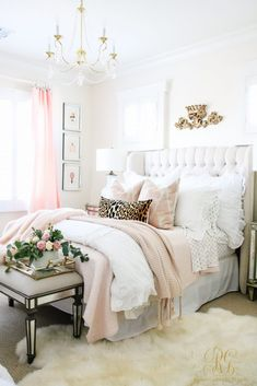 Favorite Posts 2017 Happy New Year 2019 Leopard and pink with white in tween girl bedroom Favorite Posts 2017 Happy New Year Randi Garrett Design The post Favorite Posts 2017 Happy New Year 2019 appeared first on Bedroom ideas. Glam Bedroom, Home Decor Bedroom, Girls Bedroom, Bedroom Ideas, Diy Bedroom, Cheetah Bedroom Decor, Animal Print Bedroom, Glam Bedding, Teen Bedroom Makeover