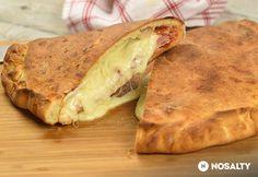 Sonkás-sajtos calzone