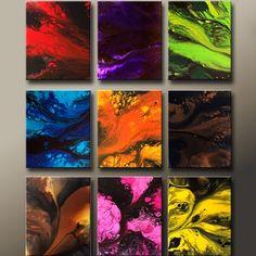 original abstract art by artist Destiny Womack