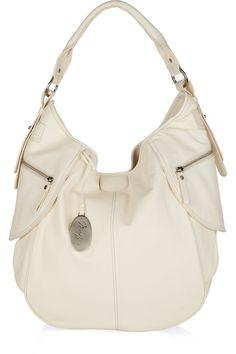Max Azria white purse