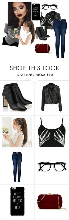 """-Prequel-"" by briiixxe ❤ liked on Polyvore featuring Paige Denim, Boohoo, 2LUV and Natasha Accessories"