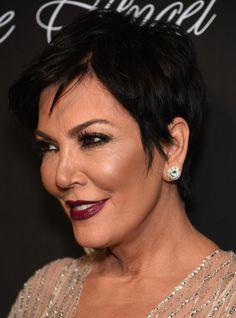 Kris Jenner Short Pixie Haircut - 2015 Hairstyles for Older Women