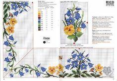 ru / Ôîòî - êëàäîâî÷êà (÷òî óæå áûëî è ÷åãî íå áûëî) - irisha-ira Just Cross Stitch, Cross Stitch Borders, Cross Stitch Flowers, Cross Stitch Charts, Cross Stitch Designs, Cross Stitching, Cross Stitch Patterns, Diy Embroidery, Cross Stitch Embroidery