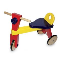 Toddlers Traditional Wooden Ride-on Trike