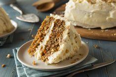Se me antojó esta rica receta: Pastel de Zanahoria con Betún de Queso Crema