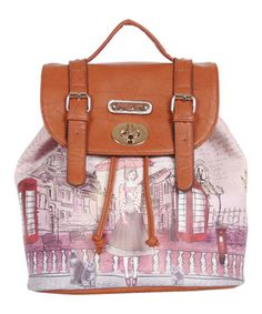 This Nicole Lee Telephone Booth Gitana Vintage Backpack Handbag by Nicole Lee is perfect! #zulilyfinds