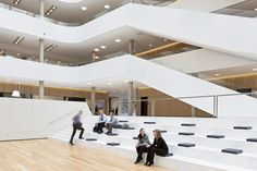 DSV: A New Modern Global Headquarters and Distribution Center in Denmark #architecture