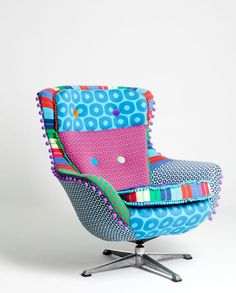 Too busy for one of the rooms? I <3 this chair!