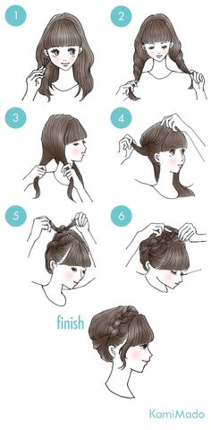 Updo i can do when i get bangs