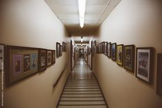 Wisconsin Historical Society (Dewitz Photography) - 4th floor staff offices hallway