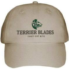 Ball caps with the popular Terrier Blades logo.They got bite! Helmet Hair, Embroidered Caps, Hunter Jumper, Equestrian Style, Thoroughbred, Dressage, Baseball Cap, Hot Pink, Terrier