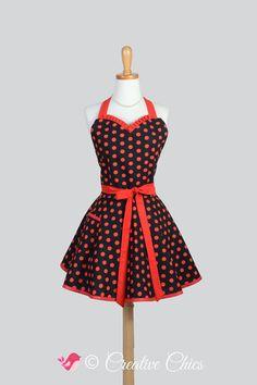 Etsy listing https://www.etsy.com/listing/206698725/sweetheart-retro-apron-retro-sexy-womens
